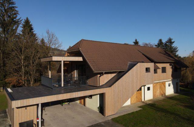 Umbau Wirtschaftsgebäude/Stall zu einem Wohnhaus