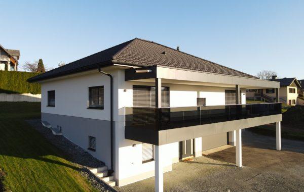 Errichtung Einfamilienhaus/Bungalow/Fertighaus