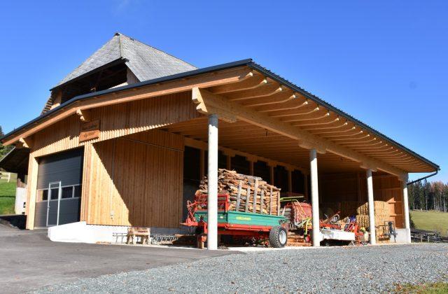 Zubau Wirtschaftsgebäude/Stall